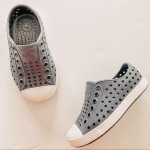 Native Blue/ White Jefferson Slip On Shoes. Sz 6